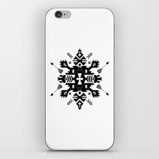 Tribal Black and White iPhone & iPod Skin