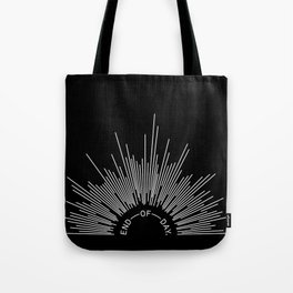 END OF DAY — RAYS (reversed) Tote Bag