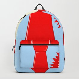 Happy Fathers Day Rosette Backpack