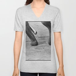 Sweeping Spike Unisex V-Neck