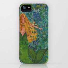 Mermaid Chill iPhone Case