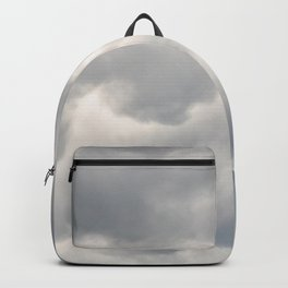 A bunch of rainy clouds Backpack