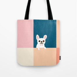 Little_French_Bulldog_Love_Minimalism_001 Tote Bag