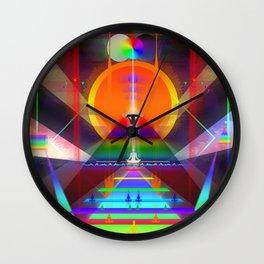 FACING THYSELF Wall Clock