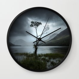 Lone Tree - Lake District Wall Clock