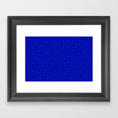 Control Your Game - Tradewinds Blue Framed Art Print