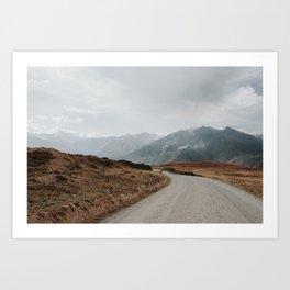 Peru Landscape Art Print