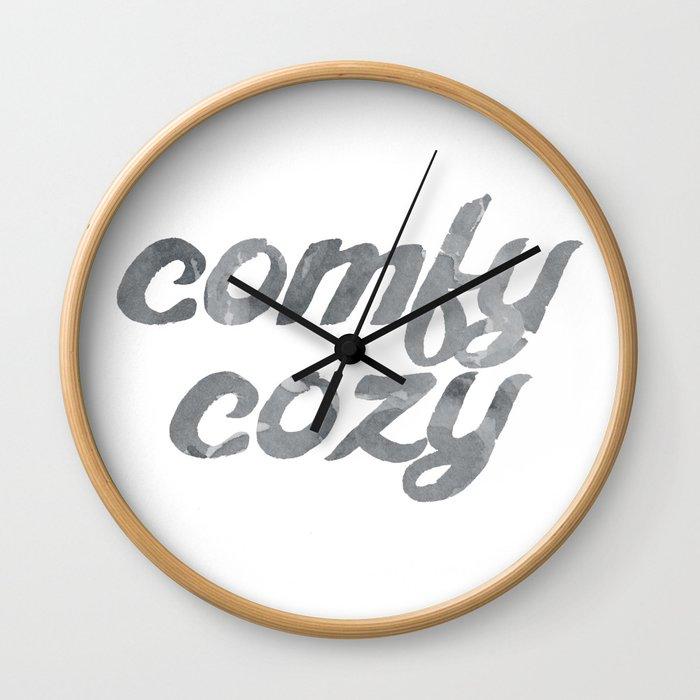 comfy cozy Wall Clock