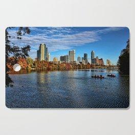 Austin Skyline From Lou Neff Point Cutting Board