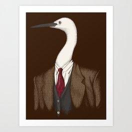 Crane Clothier Co. (no text) Art Print