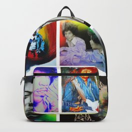'Jimi Collage' Backpack