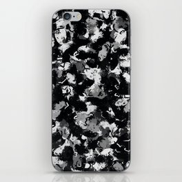 Shades of Gray and Black Oils #1979 iPhone Skin