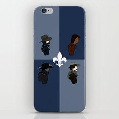 The Musketeers iPhone & iPod Skin