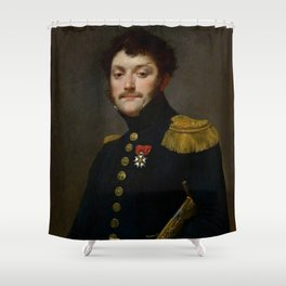 Jean-Baptiste Regnault - Jean-François Regnault, fils de l'artiste Shower Curtain