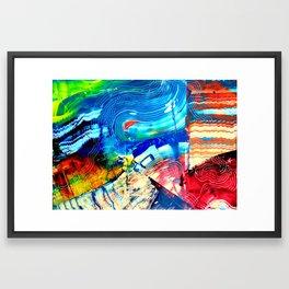 Keep Walking Framed Art Print