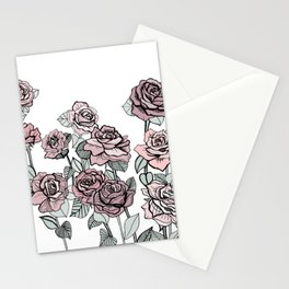 Vintage Rose Stationery Cards