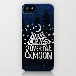 Under Canvas iPhone Case