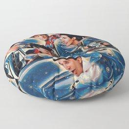 Friends Tv Show Merchandise Picture Joey Ross rachel Floor Pillow