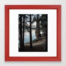 Summer Night by Tenaya Lake Framed Art Print