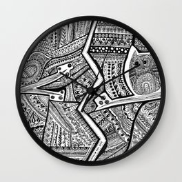 Passing By Day and Night Wall Clock