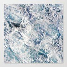 Seafoam Pacific Canvas Print