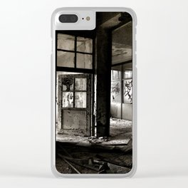 Office Clear iPhone Case