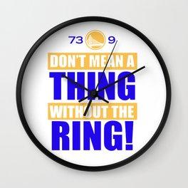 Golden State Warriors Useless Record NBA Wall Clock