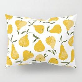 Yellow pear Pillow Sham