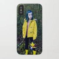 coraline iPhone & iPod Cases featuring Coraline by Kelly Is Nice