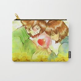 Frisk n Chara  Undertale Carry-All Pouch