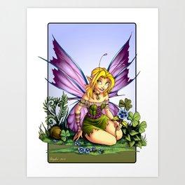 Clover Fairy Art Print