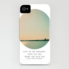Swim The Sea iPhone (4, 4s) Slim Case