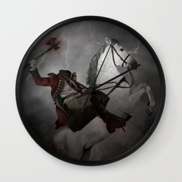 Sleepy Hollow Wall Clock