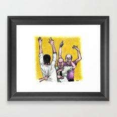 Traders Framed Art Print