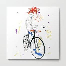 Bicycle Another Life-Cycle Metal Print
