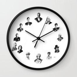 DOCTOR WHO: ALL THIRTEEN Wall Clock