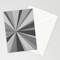 Monochrome Starburst Stationery Cards