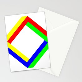 Penrose Square Rotate 45 Stationery Cards