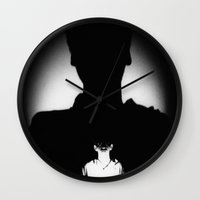 1984 Wall Clocks featuring 1984 by amewesing
