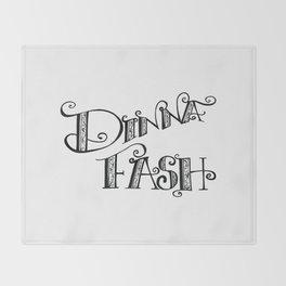 DINNA FASH Throw Blanket