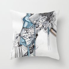 State of Undress Throw Pillow
