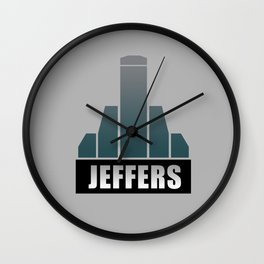 Jeffers Corporation Wall Clock