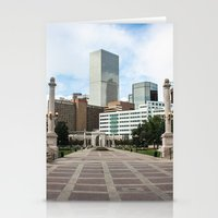 denver Stationery Cards featuring Denver by Holly