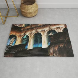 Zwinger Dresden abstract Rug