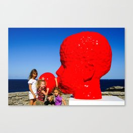 Sydney Scuptures By The Sea Canvas Print