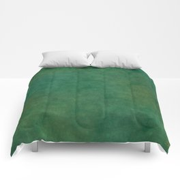 """Porstroke, Teal Shade Pattern"" Comforters"