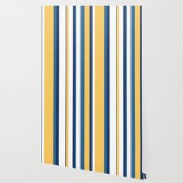 Vintage 1950s stripes Wallpaper