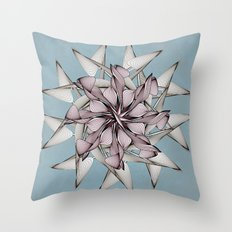 Thrive (in Pale Blue) Throw Pillow