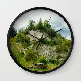 An old quarry in Kazimierz Dolny Wall Clock
