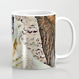 Toony Polar Bear Coffee Mug